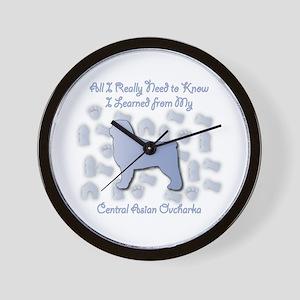 Learned CAO Wall Clock