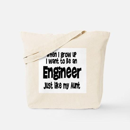 WIGU Engineer Aunt Tote Bag