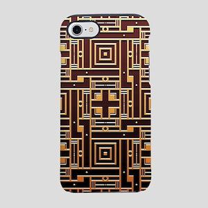 Art Deco Gold Black Geometric iPhone 7 Tough Case