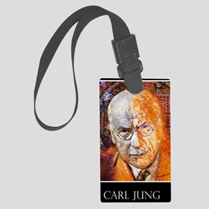 Carl Jung Poster Large Luggage Tag