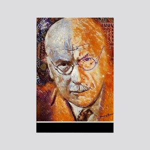 Carl Jung Poster Rectangle Magnet
