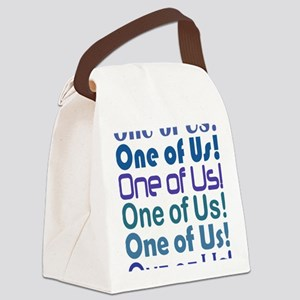 One of Us! Freaks Canvas Lunch Bag