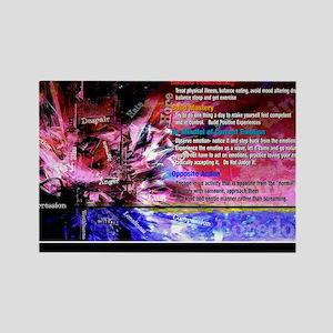 Emotional Regulation lg Poster Rectangle Magnet