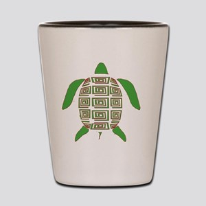 GREEN SEA TURTLE Shot Glass