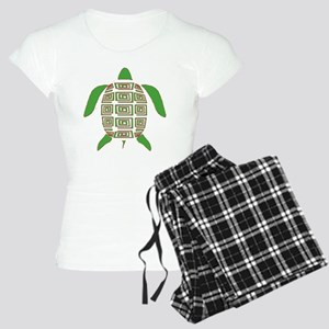 GREEN SEA TURTLE Women's Light Pajamas