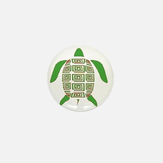 GREEN SEA TURTLE Mini Button