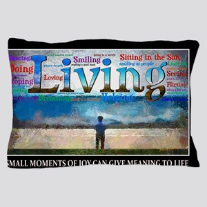 Living lg Poster Pillow Case
