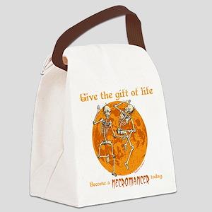 Necromancer Halloween Canvas Lunch Bag