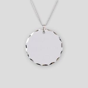 Female Ironman Necklace Circle Charm