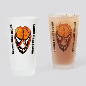 Mexican Wrestling Mask T-Shirt Drinking Glass