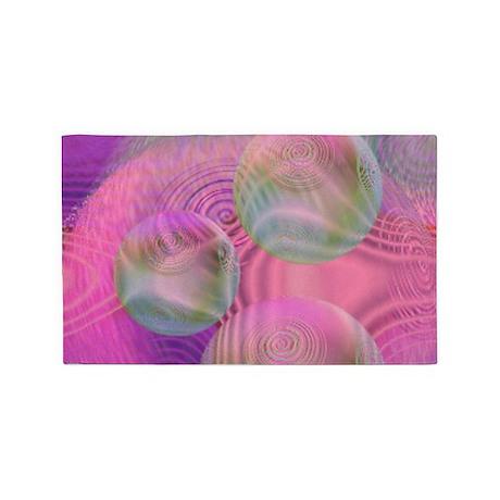 Inner Flow III 3'x5' Area Rug