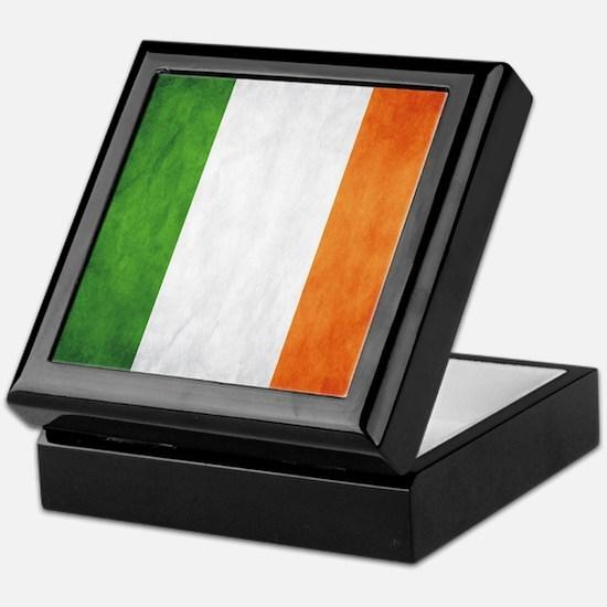 Irish Flag Keepsake Box