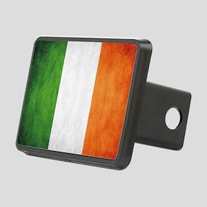Irish Flag Rectangular Hitch Cover
