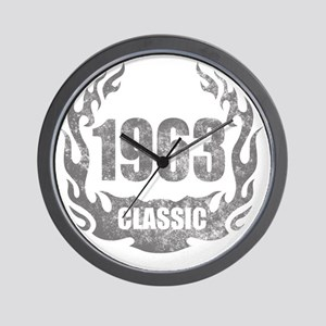 1963 Classic Grunge Wall Clock