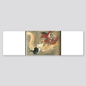 Tengu Battle Bumper Sticker