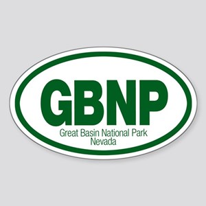 Great Basin National Park Oval Sticker