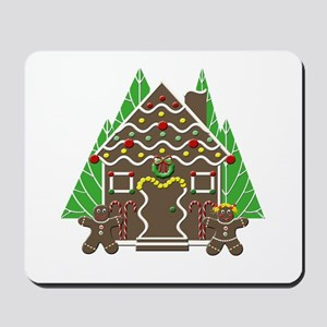 Gingerbread House Mousepad