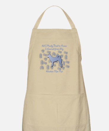 Learned Klee Kai BBQ Apron