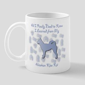 Learned Klee Kai Mug