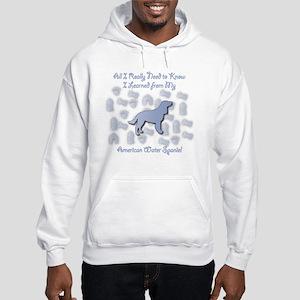 Learned Spaniel Hooded Sweatshirt