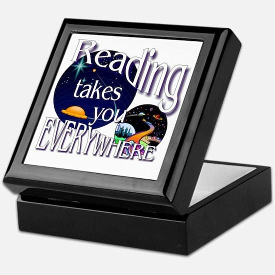 Reading Takes You Everywhere BL Keepsake Box