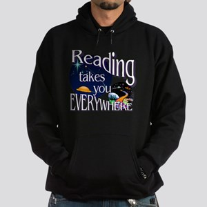 Reading Takes You Everywhere BL Hoodie (dark)