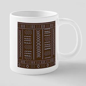 African Mud Cloth Pattern Mugs