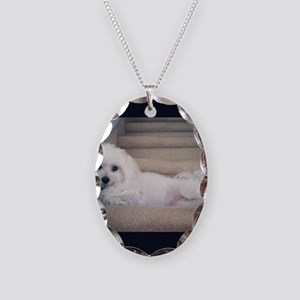 Sadie 5 Necklace Oval Charm