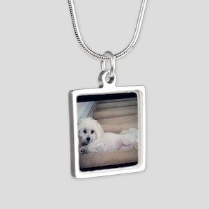 Sadie 5 Silver Square Necklace