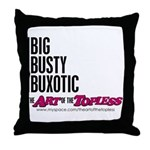 Big Busty Buxotic Throw Pillow