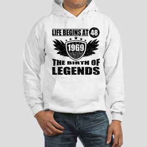 LIFE BEGINS AT 48 THE BIRTH OF LEGENDS 1969 Sweats