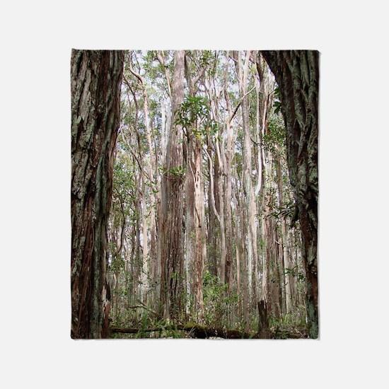 Molokai Forest Throw Blanket