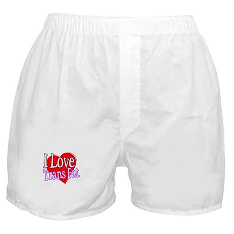 I Love Trans Fat Boxer Shorts