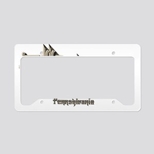 Allentown Pennsylvania License Plate Holder