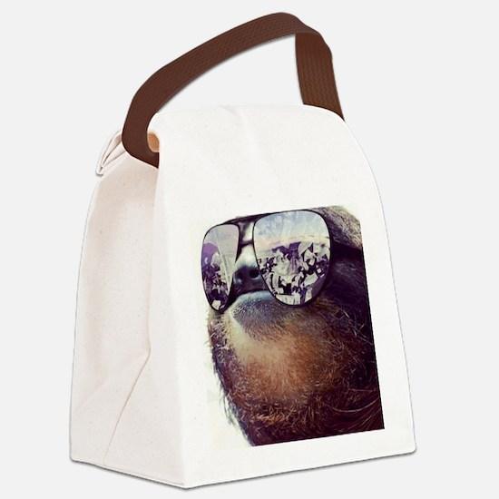 million dollar sloth Canvas Lunch Bag
