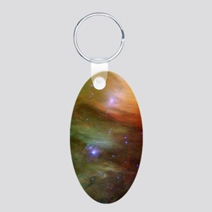 nexus_s_phone_case Aluminum Oval Keychain