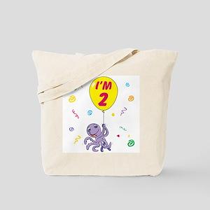 Octopus 2nd Birthday Tote Bag