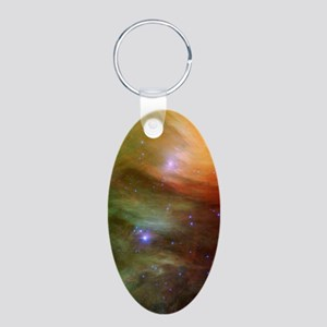 incredible_2_phone_case Aluminum Oval Keychain