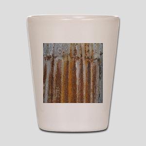 Rusty Tin Shot Glass