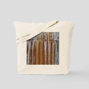 Rusty Tin Tote Bag