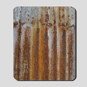 Rusty Tin Mousepad