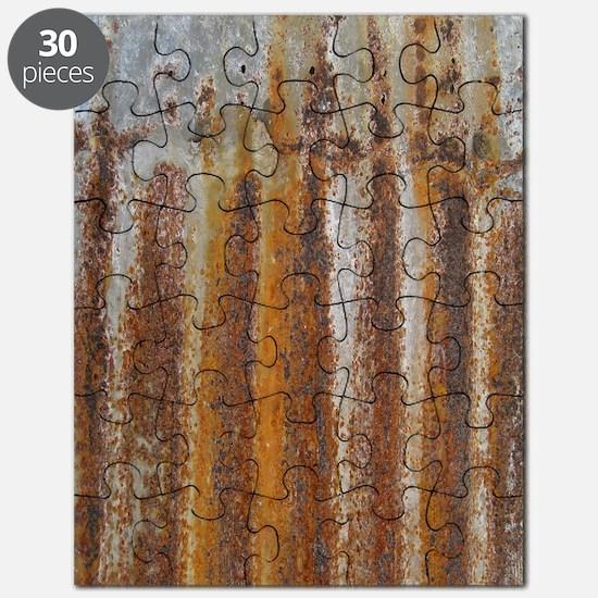 Rusty Tin Puzzle