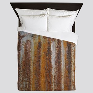 Rusty Tin Queen Duvet