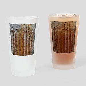 Rusty Tin Drinking Glass