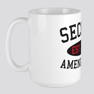 Second Amendment, Est. 1791 Large Mug