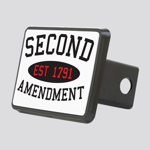 Second Amendment, Est. 179 Rectangular Hitch Cover
