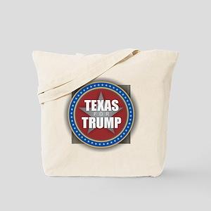 Texas for Trump Tote Bag