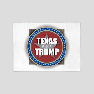 Texas for Trump 5'x7'Area Rug
