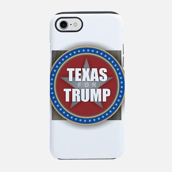 Texas for Trump iPhone 7 Tough Case