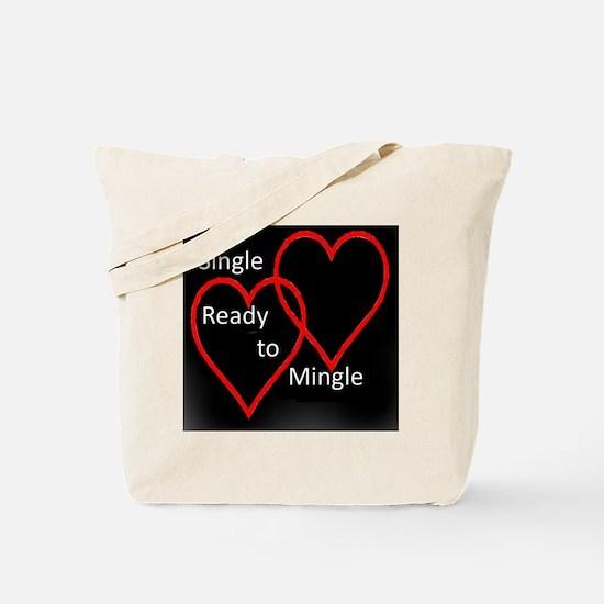 Single Dark Tote Bag